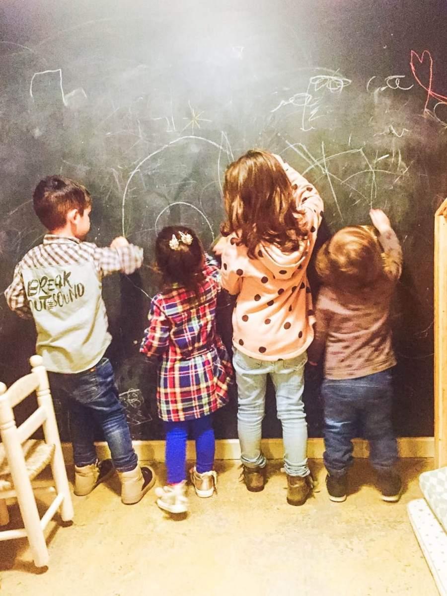 Zona infantil Family Room Café
