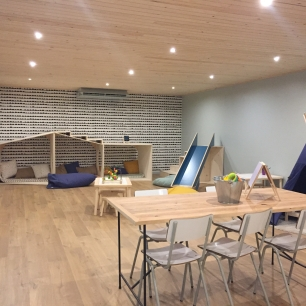 Zona infantil Family Room Café Sarriá