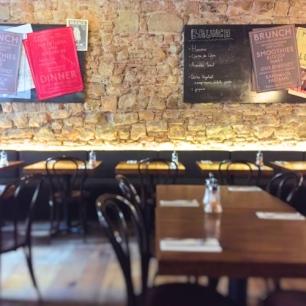 Interior Café Godot